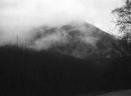 Black and White Photograph Great Smoky Mountains Triptych Center