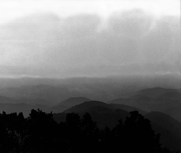 Black and White Photograph Great Smoky Mts